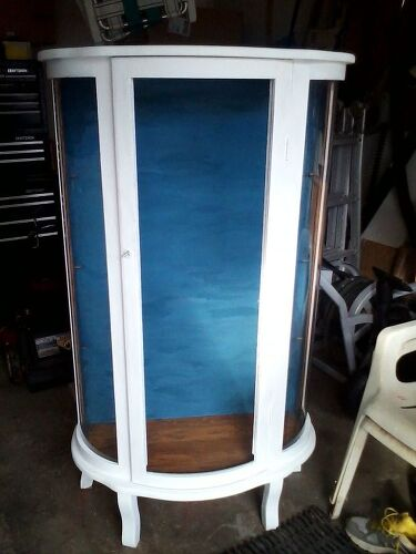 Need Ideas For Curio Door To Replace Broken Glass Please Hometalk - Curio cabinet glass replacement