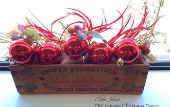 diy vintage christmas decor cheese tray, christmas decorations, seasonal holiday decor
