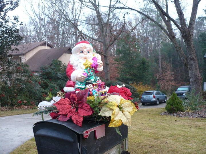 mailbox christmas decoration christmas decorations seasonal holiday decor