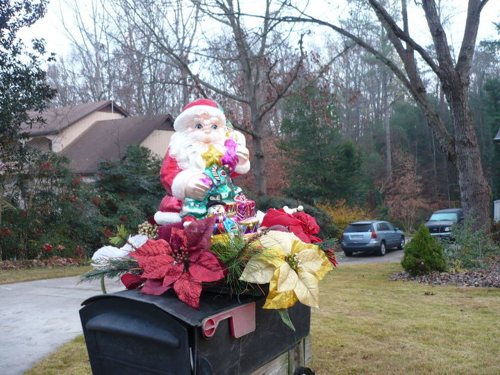 Mailbox Christmas Decorations.Mailbox Christmas Decoration 2015 Hometalk