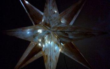 Diy Big Origami Star #homeForchristmas