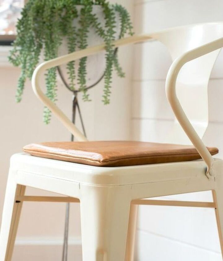 s 18 budget friendly home updates for guests, home decor, seasonal holiday decor, Add Padding to Your Dining Chairs