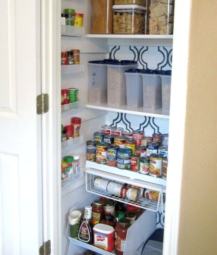 s 18 budget friendly home updates for guests, home decor, seasonal holiday decor, Organize Your Kitchen Pantry