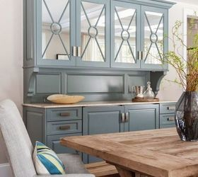 Curio Cabinet Makeover, Painted Furniture