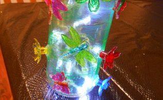 diy bug jar lights craft, crafts, repurposing upcycling
