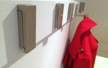 Replacing Ugly, Dangerous Brass Hooks With Sleek, Modern Folding Hooks