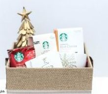 holiday hot cocoa diy gift basket, christmas decorations, crafts, seasonal holiday decor