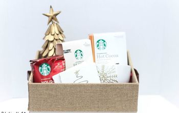 "DIY ""Warming Up for the Holidays"" Gift Basket"
