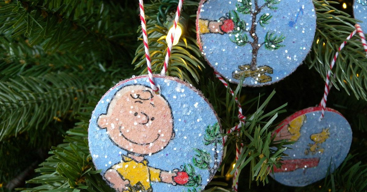 Charlie Brown Christmas Decorations.Charlie Brown Ornaments To Make With The Kiddos Hometalk
