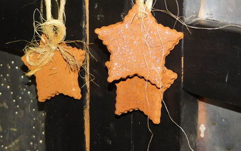 Cinnamon Dough Ornaments
