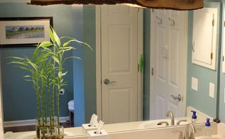 wood cover for bathroom light, bathroom ideas, woodworking projects