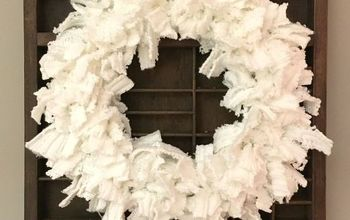 Winter White Sweater Wreath