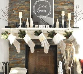 Christmas Mantel Decorating Tricks, Christmas Decorations, Fireplaces  Mantels, Seasonal Holiday Decor