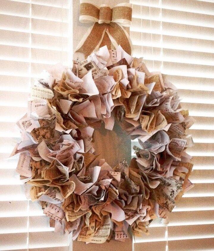 holiday wreath diy vintage printables, christmas decorations, crafts, seasonal holiday decor, wreaths