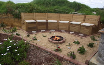 "A Firepit in the ""Chill Out'"" Area"