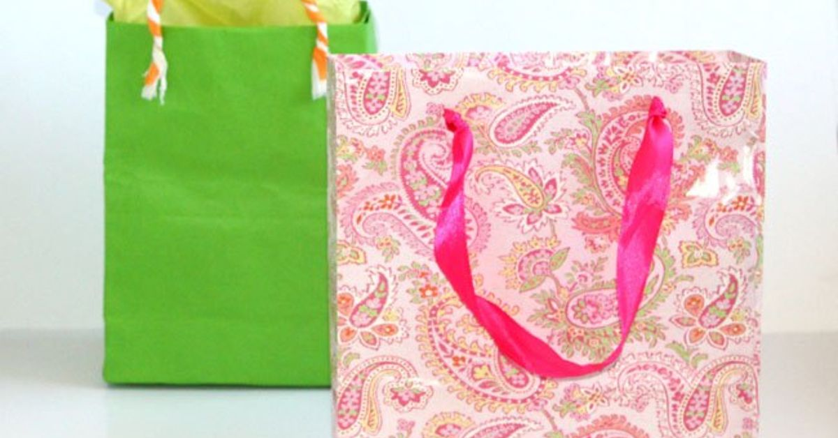 Fastest Way To Make Gift Bags From Any Paper Hometalk