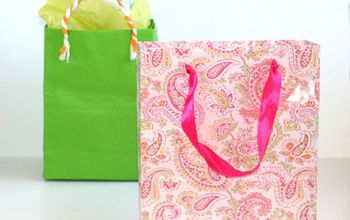 Fastest Way To Make Gift Bags From Any Paper