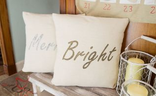 easiest diy pillow cover, crafts, reupholster