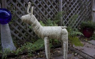 refreshed christmas reindeer, christmas decorations, seasonal holiday decor