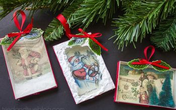 Vintage-Inspired Diorama Ornaments