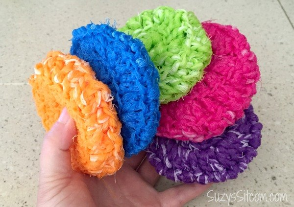 Crocheted Pot Scrubby Pattern Hometalk
