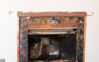 fireplace brighten up room, diy, fireplaces mantels, home maintenance repairs