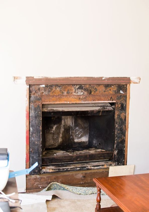 Fireplace Brighten Up Room Diy Fireplaces Mantels Home Maintenance Repairs