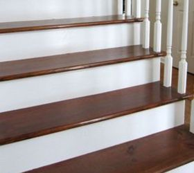 Q Stain Stairs Polyerethane, Interior Home Painting, Painting, Painting  Over Finishes, Stairs