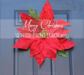 Front Porch Winter Decor, Christmas Decorations, Porches, Seasonal Holiday  Decor