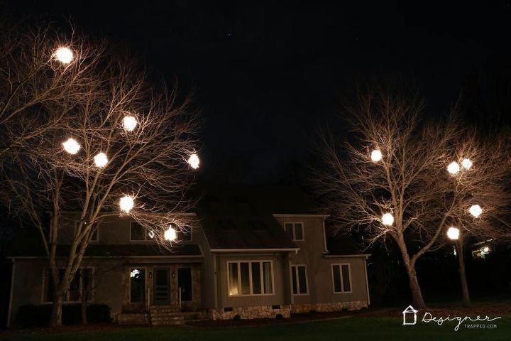 Diy lighted christmas balls hometalk diy lighted christmas balls christmas decorations diy lighting outdoor living seasonal aloadofball Choice Image