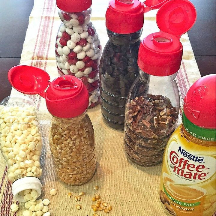 s the best organizing ideas of 2015 that you should do this year too, organizing, Storing Food in Coffee Mate Containers