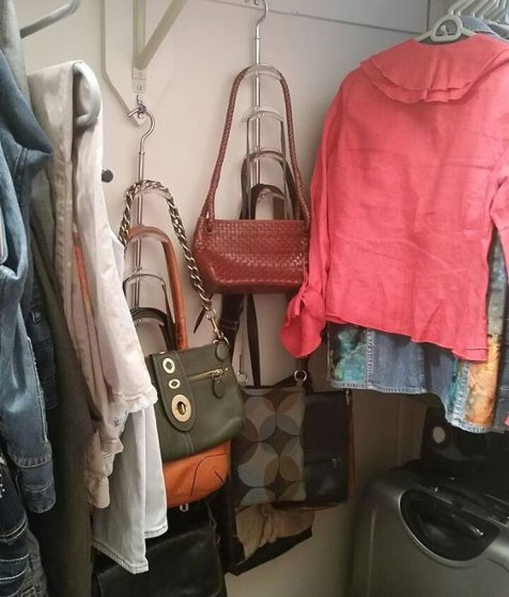s the best organizing ideas of 2015 that you should do this year too, organizing, Storing Stuff on the Back Closet Wall