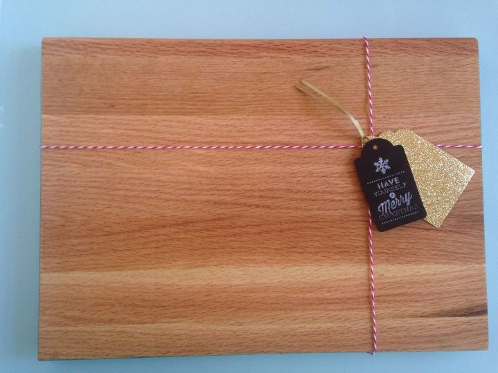 repurposed stair tread into cutting board, repurposing upcycling, woodworking projects
