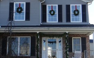 rustic vintage christmas home tour, christmas decorations, home decor, seasonal holiday decor