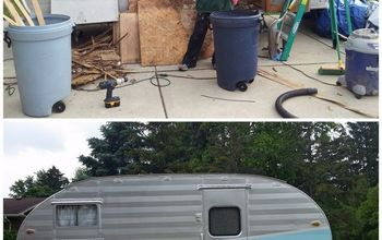 Gidget the Vintage Trailer Renovations Before and After