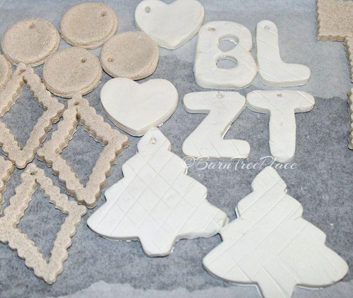 salt dough vs cornstarch clay, christmas decorations, crafts, seasonal holiday decor