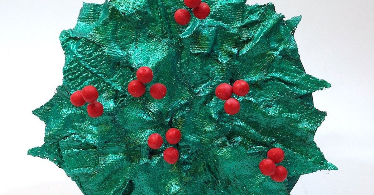christmas holly berry wreath hometalk