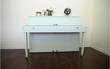 I Painted My Piano Mint (and It Was Easy!)