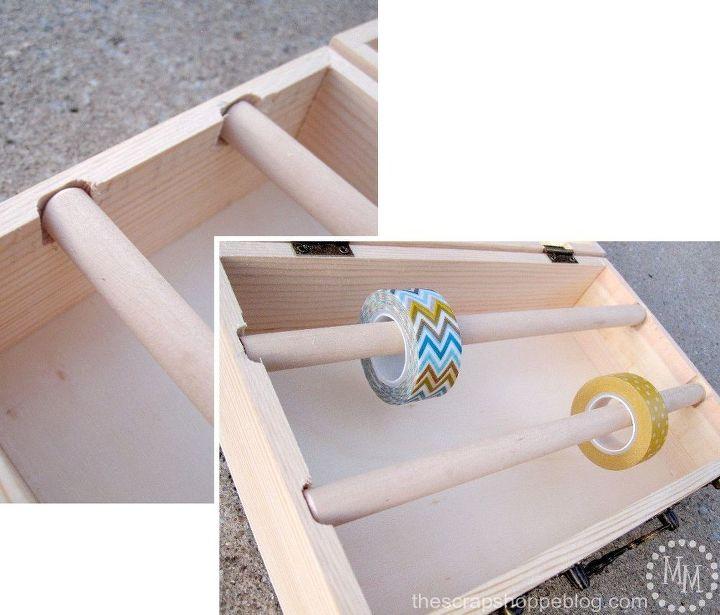 washi tape storage, craft rooms, organizing, storage ideas