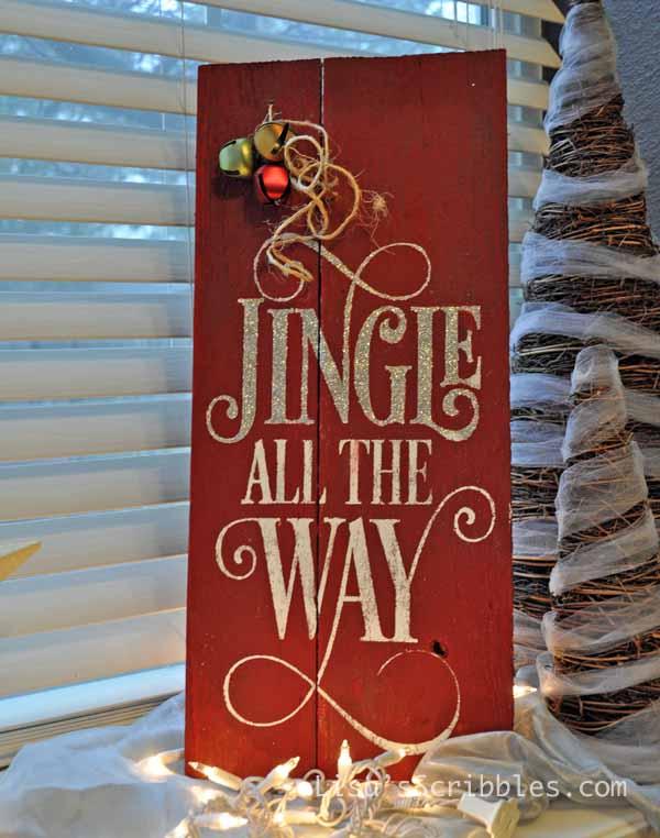 Diy Christmas Custom Wood Signs Hometalk