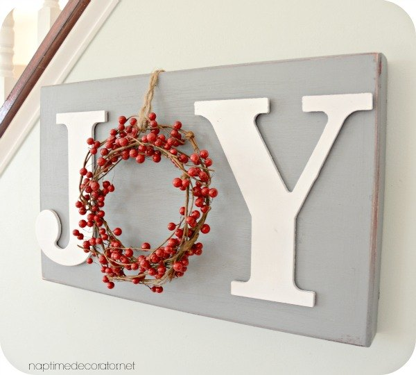 christmas decor diy joy sign christmas decorations crafts seasonal holiday decor