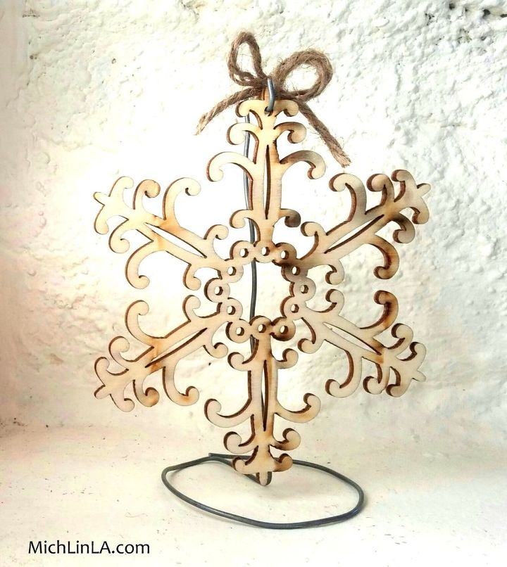 Well-liked 2 Minute Rustic Wire ornament Stand | Hometalk FK92
