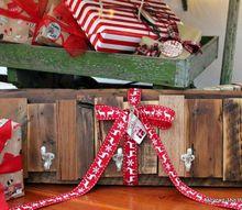scrap wood coat hook, christmas decorations, seasonal holiday decor, woodworking projects