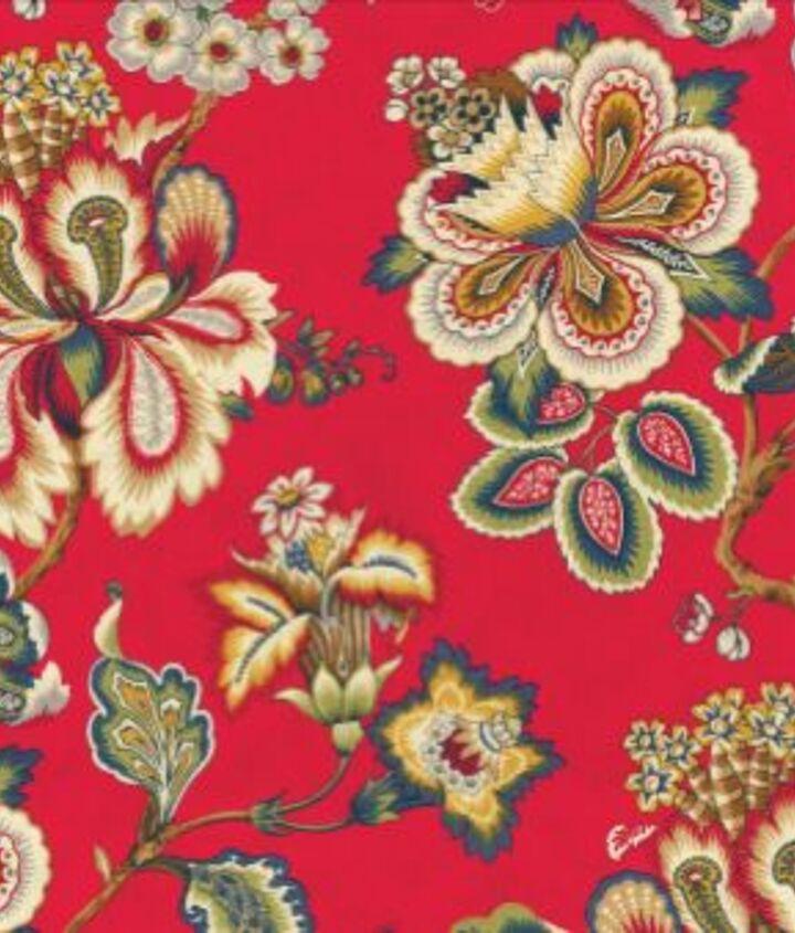 HGTV Home Bespoke Blossoms Gemstone Fabric