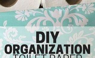 diy organization toilet paper storage, bathroom ideas, organizing, storage ideas