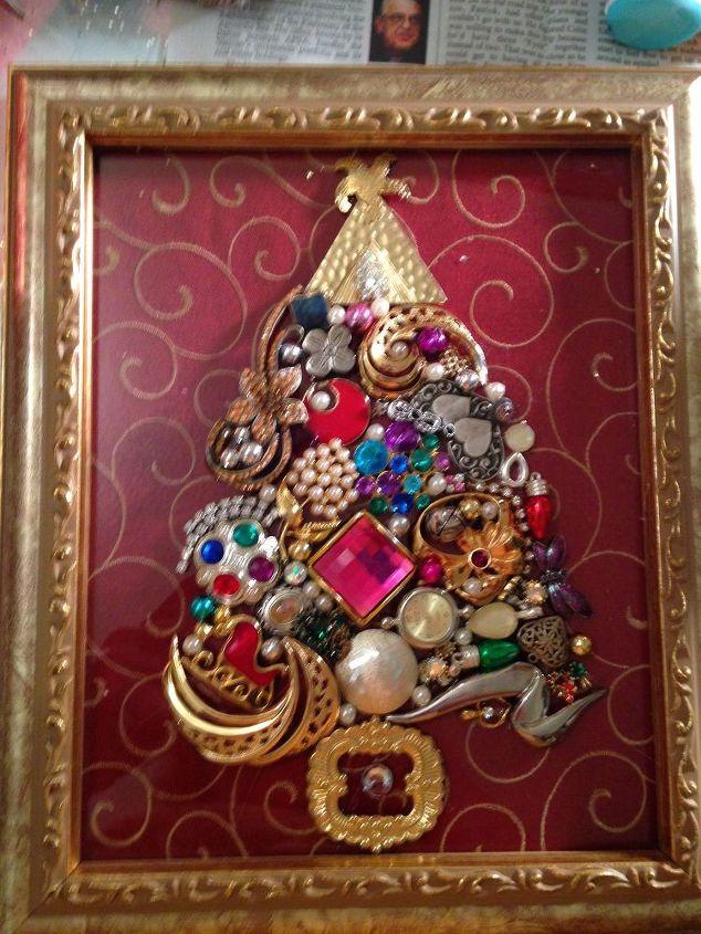 Jewel Christmas Trees | Hometalk
