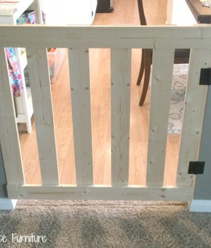 How To Build A 10 Minute Baby Pet Gate Hometalk
