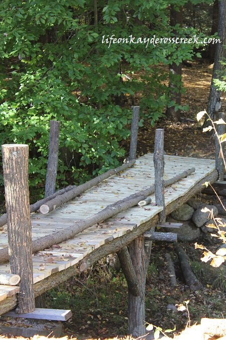 building an adirondack bridge hometalk