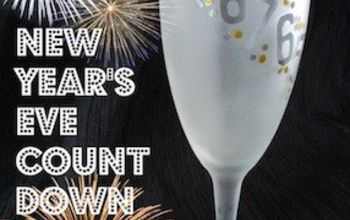 new year s count down party flutes diy, crafts, how to, seasonal holiday decor