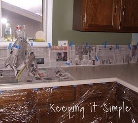 Diy Painted Counter Tops, Countertops, Diy, Kitchen Design, Painting